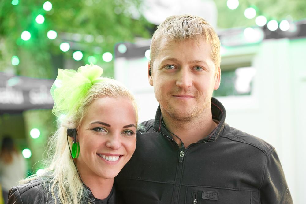 Tanel Samm. Fotol elukaaslasega Retrobest Festivalil.