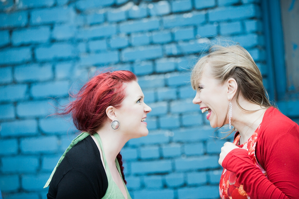 Mari Kalkun & Maija Kauhanen. Foto: Gabriela Liivamägi.