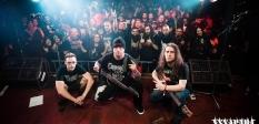 Laupäeval Hymenotomy esimene kodumaine kontsert, lisaks laval Rotten Sperm ja Jörr