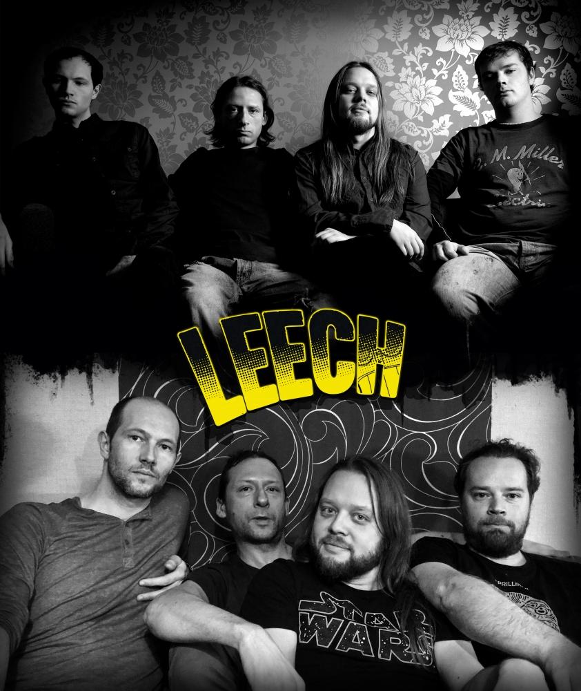 Leech – Erik Neumann, Ivo Koopuu, Rainer Peterson ja Magnus Andre – albumi ilmumise ajal ja kümme aastat hiljem.