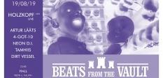 Esmaspäevasel Beats From The Vaulti peol esineb Kanada eksperimentaalmuusik Holzkopf