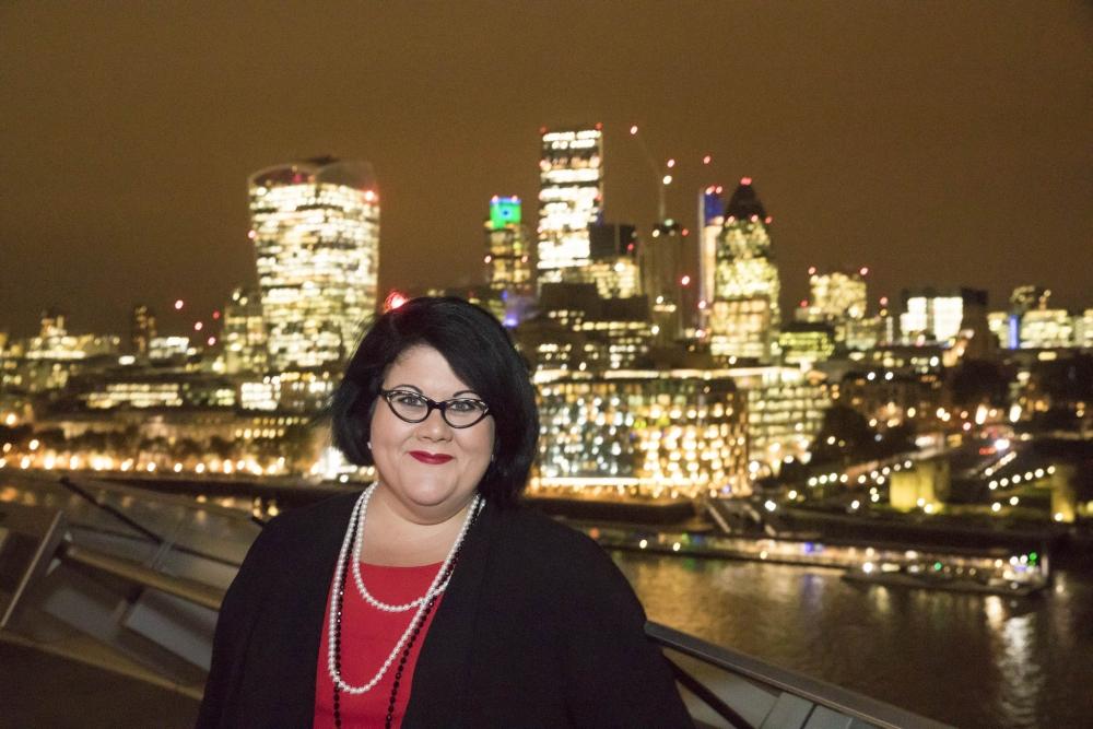 Londoni öölinnapea Amy Lamé