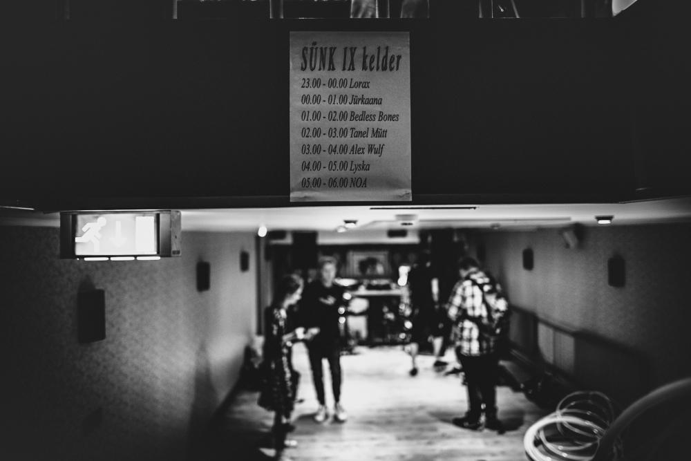 Kelder: kõige tummisema line-upiga ruum.