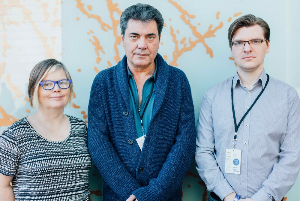 EMEE juhatus: Anna Hildur Hildibrandsdottir, Peter Smidt, Virgo Sillamaa