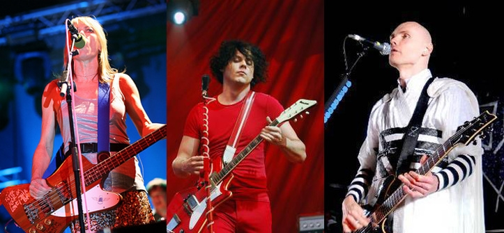 Sonic Youth + White Stripes + Smashing Pumpkins