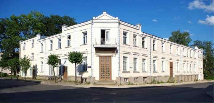 Stedingu maja Võrus.