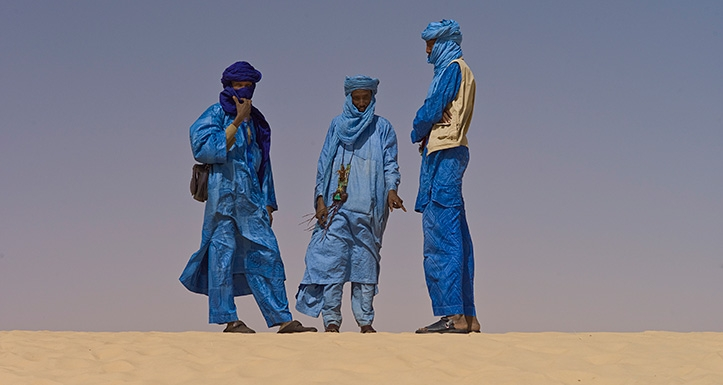 Tuareegid 2012. aasta kõrbefestivalil.