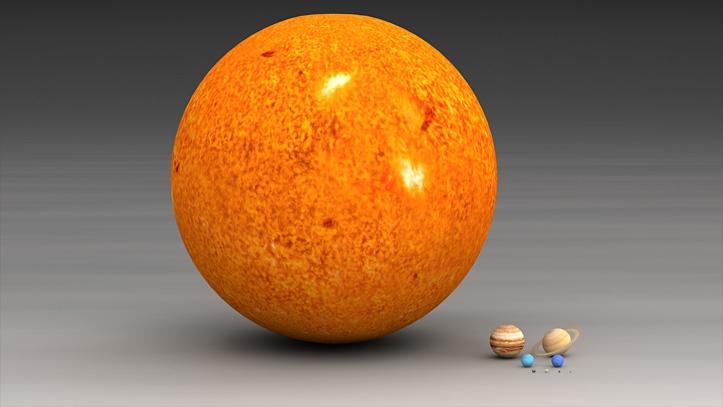 Päike moodustab 99% Päikeseüsteemi massist.
