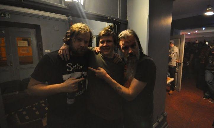 Talboti uus trummar Evgeniy Mikhailov Magnus Andre ja Aivar Meose embuses