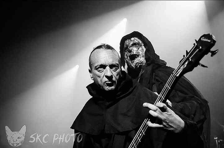 Mayhem sel kevadel Milanos. Necrobutcher ja Attila.
