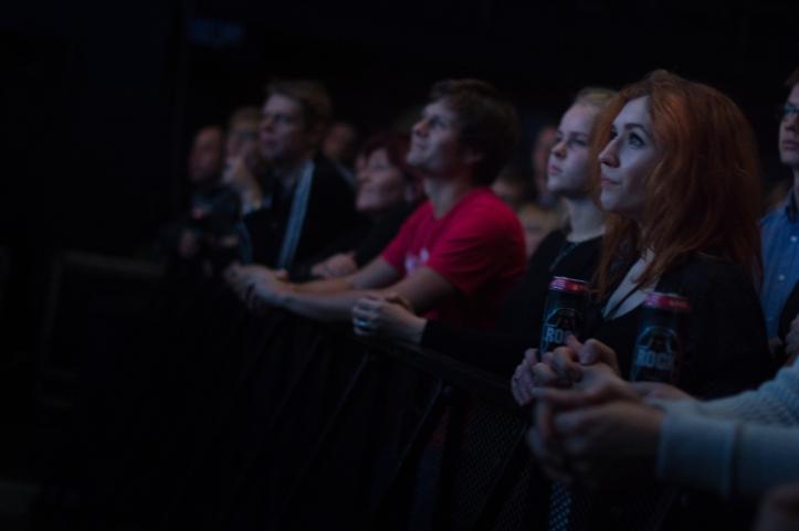 Publik oli väga rahul.