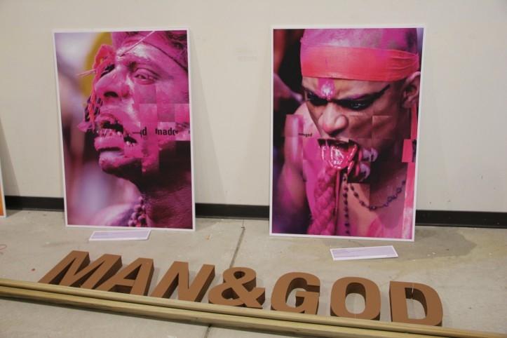 Man&God; näitus ja performance