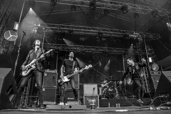 Veel üks meile tuntud bänd. Grave Pleasures'i ninamees nimelt on Tallinnas, Tallinn Music Weekil, Rada7.ee esitluspeol esinenud bändiga Hexvessel. Kui Hexvessel on psühedeelsema kõlaga, siis Grave Pleasures tunduvalt rockilikum.