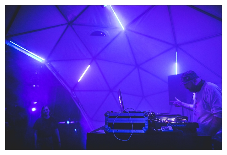 Äfteka aeg on käes, Kablyse telgis on hetkel peal DJ Cherrystones.