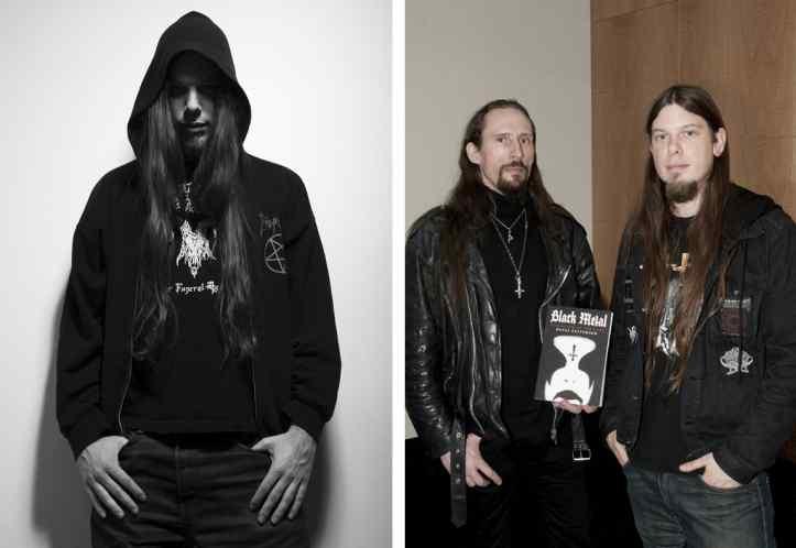 "Vasakul: Dayal Patterson (foto: Ester Segarra) / Paremal: Gaahl, Dayal Patterson ja ""Evolution of the Cult"""