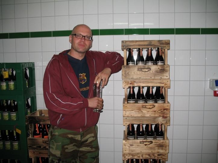 Potsdami tähtsaima õlletootja Rex Pils õllekeldris
