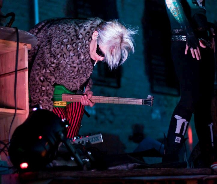 Monty Cantsini perfomance-kontsert @Patarei vangla (2012)