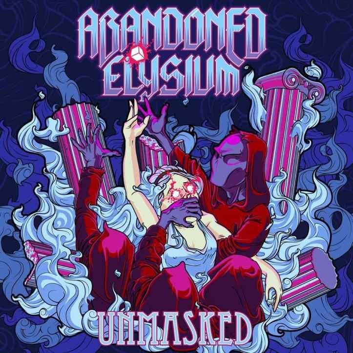 "EP ""Unmasked"" kujundus, autor Uku Randver."