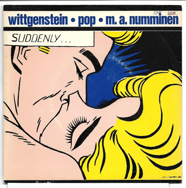 "M.A. Numminen ""Wittgenstein Pop"", 1966, 7"" singel"